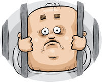 Cartoon Prisoner Stock Images