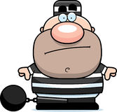Cartoon Prisoner Stock Photography