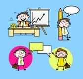 Cartoon Professional Businessman & Executives Vectors. Cartoon Professional Businessman vector illustration