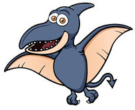 Cartoon pteranodon Royalty Free Stock Photos