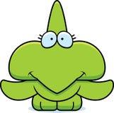 Cartoon Pterodactyl Smiling Stock Photo