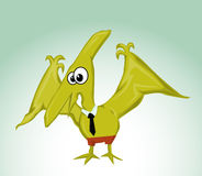 Cartoon Pterodactylus Royalty Free Stock Photo