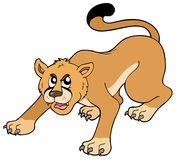 Cartoon puma Royalty Free Stock Photography