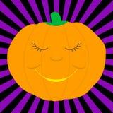Cartoon pumpkin Stock Image