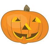 Cartoon pumpkin. Abstract smiling cartoon halloween pumpkin Royalty Free Stock Images
