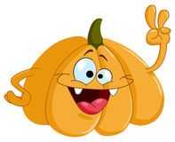 Cartoon pumpkin Stock Photo