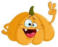 Cartoon pumpkin royalty free illustration