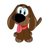 Cartoon puppy. Royalty Free Stock Photos