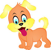 Cartoon Puppy Royalty Free Stock Images