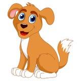 Cartoon puppy Stock Image
