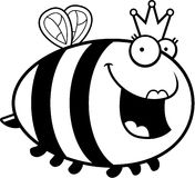 Cartoon Queen Bee Stock Photography
