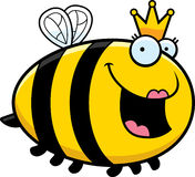 Cartoon Queen Bee Royalty Free Stock Photo