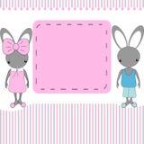 Cartoon rabbit Stock Photos