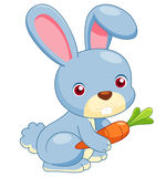 Cartoon rabbit royalty free illustration