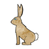 Cartoon rabbit Royalty Free Stock Photo