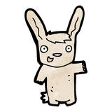 Cartoon rabbit Stock Image