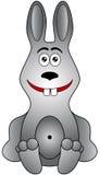 Cartoon rabbit Stock Photography