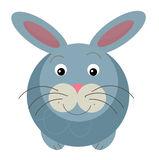 Cartoon rabbit Royalty Free Stock Photos