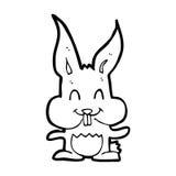 Cartoon rabbit Royalty Free Stock Photography