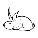 cartoon rabbit Stock Images