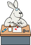 Cartoon Rabbit Crafts Stock Photo