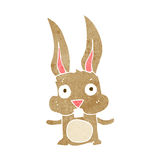 Cartoon rabbit Royalty Free Stock Images
