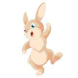 Cartoon rabbit Stock Images