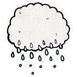 Cartoon raincloud Royalty Free Stock Photo