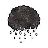 Cartoon raincloud Stock Photography