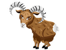 Cartoon Ram Royalty Free Stock Photography