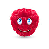 Cartoon raspberry Stock Photography