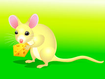 Cartoon rat Royalty Free Stock Photography