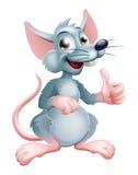 Cartoon Rat. Illustration of a cute happy cartoon rat character Stock Image