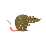 Cartoon rat Royalty Free Stock Image