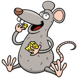 Cartoon rat Stock Photo
