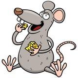 Cartoon rat. Vector illustration of cartoon rat Stock Photo