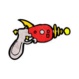 Cartoon ray gun Royalty Free Stock Photography