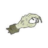 cartoon reaching zombie hand Royalty Free Stock Photo