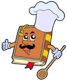 Cartoon recipe book Royalty Free Stock Photos