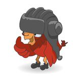 Cartoon Red bird Royalty Free Stock Photos