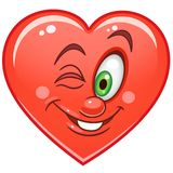 Heart Emoticons Smiley Emoji Stock Photography