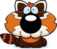 Cartoon Red Panda Smiling Royalty Free Stock Images