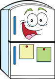 Cartoon refrigerator Royalty Free Stock Photography