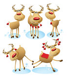 Cartoon reindeer Royalty Free Stock Photo