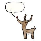 Cartoon reindeer Stock Photos