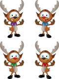 Cartoon Reindeer Character Stock Image