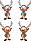 Cartoon Reindeer Character Stock Photography