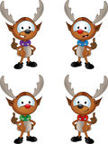 Cartoon Reindeer Character Royalty Free Stock Images