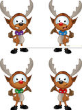 Cartoon Reindeer Character Stock Photo