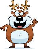 Cartoon Reindeer Idea Royalty Free Stock Photo